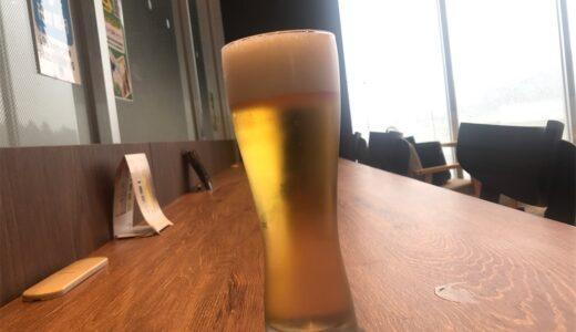 七戸十和田駅でビールを飲みながら、のんびりと新幹線を待つ。(2020年3月上旬の話)
