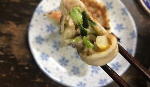 【やってみた】餃子を皮から手作り。激うま簡単料理でおうち時間を過ごす。