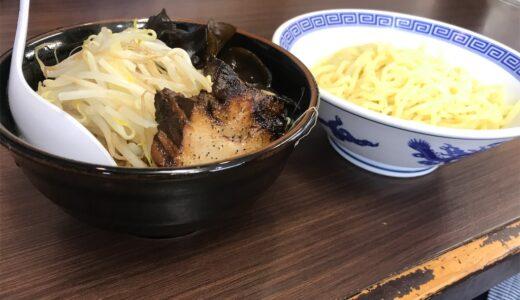 具沢山つけ汁だけでお腹いっぱいになりそうな「極めん」のつけ麺(青森市)