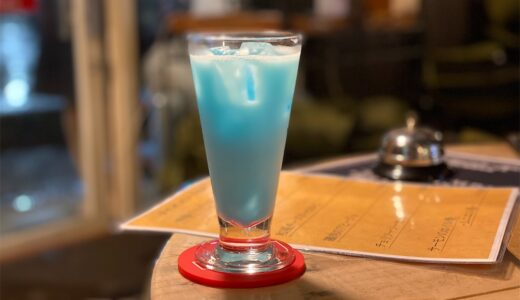 【カフェ&居酒屋&BAR わやわや】2階の居酒屋で食事して1階のバーでしっぽり飲む。オリジナルカクテルが美味くて映えます!