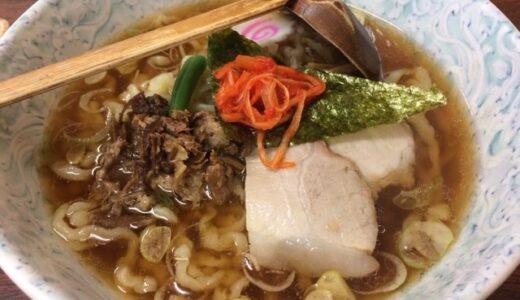 【聞きラーメン】食後にところてん?福島県白河市の「カネダイ」