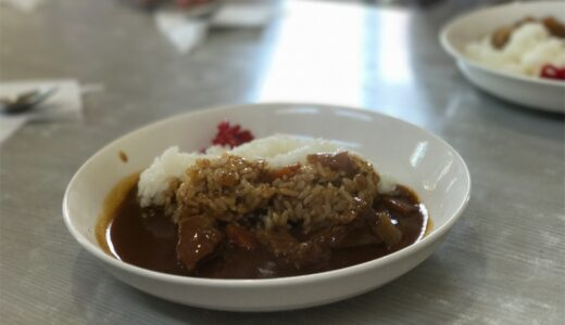 【パレス】弘前城近くのシンプールなカレー。わかめスープも美味しい!