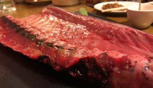 マグロ中落ち丼がめっちゃ美味い!!肉マウンテンだけじゃない麺屋&酒家あっぷるの宴会メニュー