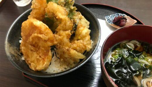 【青森市】日本でここだけ?天丼 天じゅんの炙り丼どんはガスバーナーで炙って深みアップ。
